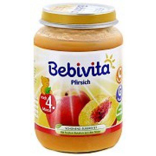 Bebivita Бебешко пюре Праскови 190 гр.
